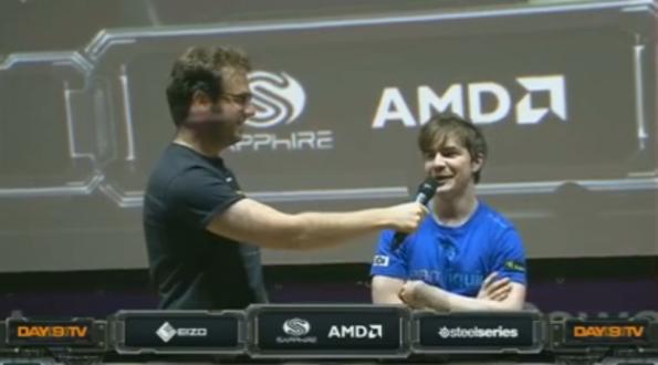 Dreamhack winner HuK
