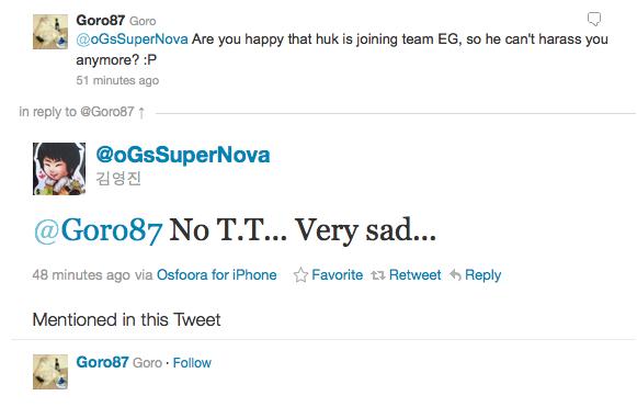 HuK join Evil Geniuses?